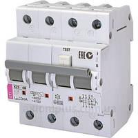Автомат дифференциальный ETI KZS-2M 4P 10А/30мА