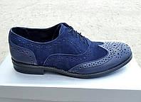 Мужские кожаные туфли Senator dark night  , фото 1