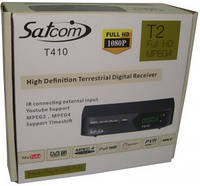 DVB-T2 Тюнер (ресивер) Т2 Satcom T410 IPTV Internet