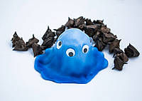 Хендгам Жвачка для рук Хамелеон 50гр синий запах фруктовый Украина Supergum Putty, Nano gum, Neogum