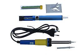 Набор для пайки ZD-920B (паяльник, подставка+, припой, оловоотсос)