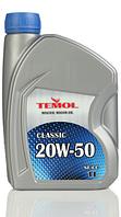 Моторное масло TEMOL Classic 20w50 1/4/5/10/20/205л., фото 1