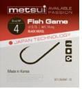 Крючки metsui FISH GAME цвет bln, размер № 10, в уп. 12 шт.