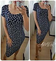 Платье Ткань вискоза Турция ДЛина 103-105см Модно, стильно и практично СУПЕР ЦЕНА!!!5 цветов сопт№174-140