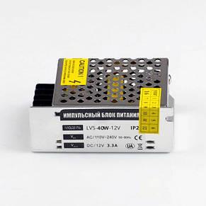 Блок питания 12V 40Bт Негерметичный, Standart, фото 2