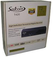 DVB-T2 Тюнер (ресивер) Т2 Satcom T420 HD