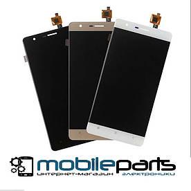 Оригинальный  Дисплей (Модуль) + Сенсор (Тачскрин)  для Oukitel K4000 Lite (Золотой)