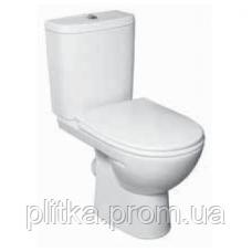 Унітаз FREJA Premium горизонт випуск бачок 3/6 л, нижній підвід сидіння з кришкою Duroplast Soft-clo, фото 2