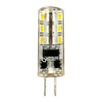 Светодиодная лампа Feron LB-420  AC/DC12V 2W 24leds G4 4000K 160lm