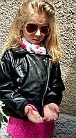 Куртка детская демисезонная Burberry эко кожа