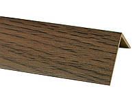 Декоративные  углы, углы ПВХ, углы  внешние, углы внутренние, декор Декоративный угол Дуб рустик 20х20  2,75м