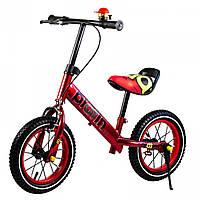Детский велобалансир беговел, велобег Balance Bike Red
