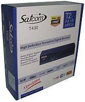 DVB-T2 Тюнер (ресивер) Т2 Satcom T430 IPTV AC3 Dolby Digital