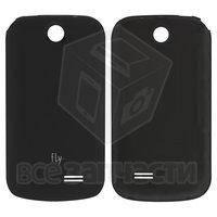 Задняя крышка батареи для мобильного телефона Fly E158, черная, original
