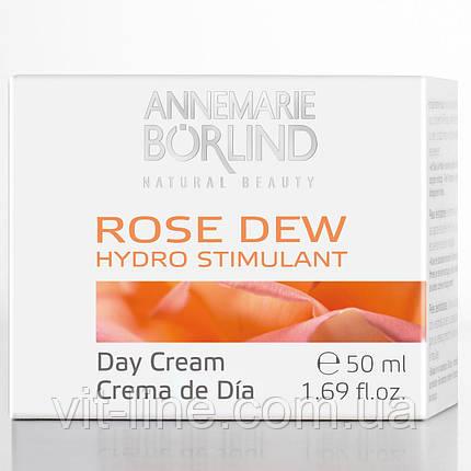 AnneMarie Borlind, Увлажняющий стимулирующий дневной крем, розовая роса, 1,69 жидкой унции (50 мл), фото 2