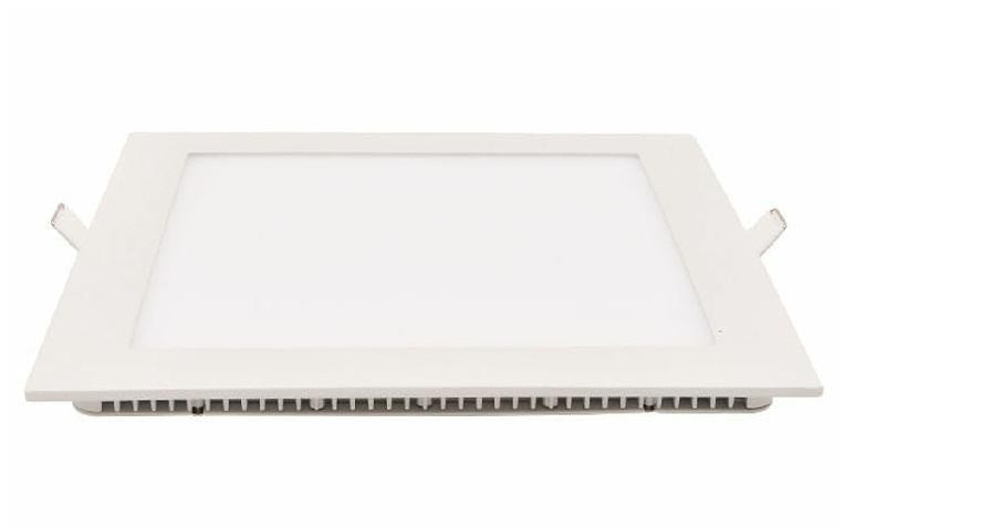 Лед светильник потолочный квадрат 6W