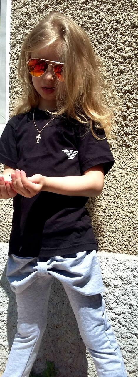 """Футболка детская Emporio Armani  Черный, 3 года - Оптово-розничный  интернет магазин """"На полке""""  в Одессе"""
