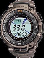 Мужские часы Casio PRO-TREK PAG-240T-7 PRG 240 Касио противоударные японские кварцевые