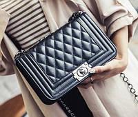 Женская сумка через плечо Шанель Вoy Maxi