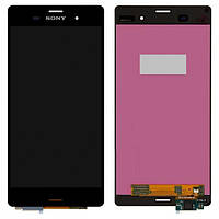 Дисплей для Sony D6603 Xperia Z3, D6633 Xperia Z3 DS, D6643 Xperia Z3, D6653 Xpe с сенсором (тачскрином) Black