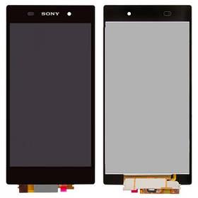 Дисплей (экран) для Sony С6943 Xperia Z1 L39h з сенсором (тачскріном) черный