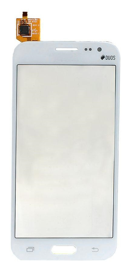 Сенсор (тачскрин) для Samsung J200F/J200G/J200H/J200Y Galaxy J2 белый
