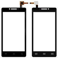 Сенсор (тачскрин) Prestigio MultiPhone 5500 Duo Black
