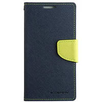 Book Cover Goospery Samsung J320 (J3) Dark Blue