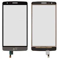 Сенсор (тачскрин) для LG D724 G3s серый
