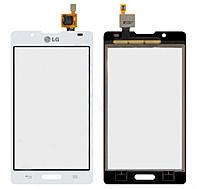 Сенсор (тачскрин) для LG P710 Optimus L7 II/P713/P714 белый
