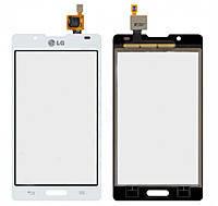 Сенсор (тачскрин) для LG P710 Optimus L7 II/P713/P714 белый, фото 2