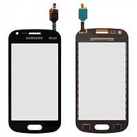 Сенсор (тачскрин) для Samsung S7582 Galaxy Trend Plus Duos черный