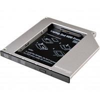 Фрейм-переходник Grand-X HDD 2.5 to notebook ODD SATA/mSATA (HDC-24)