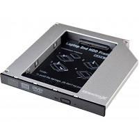 Фрейм-переходник Grand-X HDD 2.5 to notebook ODD SATA3 (HDC-27)