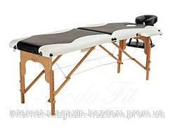 Массажный стол деревянный 2-х сегментный стол для массажа S