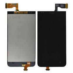 Дисплей (экран) для HTC 301e Desire с сенсором (тачскрином) черный