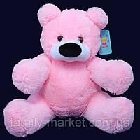 """Мягкая плюшевая игрушка """"Медведь Бублик"""" 43 см Розовый"""