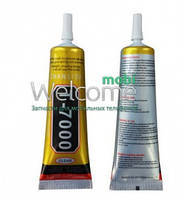Клей силиконовый T7000, 110 мг в тюбике с дозатором чёрного цвета