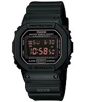 Мужские часы Casio DW-5600MS-1CR black Касио противоударные японские кварцевые
