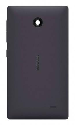 Задня кришка для Nokia X Dual Sim (RM-980) чорна, фото 2