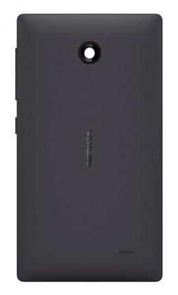 Задня кришка для Nokia X Dual Sim (RM-980) чорна