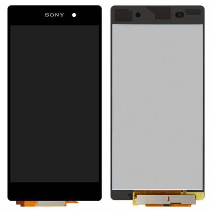 Дисплей (экран) для Sony D6503 Xperia Z2 L50W с сенсором (тачскрином) черный Оригинал, фото 2