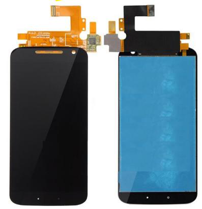 Дисплей (экран) для Motorola XT1626 Moto G4 с сенсором (тачскрином) черный Оригинал, фото 2