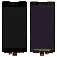 Дисплей для Sony E6533 Xperia Z3+ DS, E6553 Xperia Z3+, Xperia Z4 с сенсором (тачскрином) Black