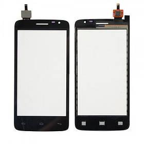 Сенсор (тачскрин) Prestigio MultiPhone 3501 Duo Black