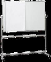 Доска 2х3 оборотно-мобильная сух.-магн. для маркера   120x90 (TOS129)