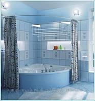 Карниз-нержавейка для  угловых ванн