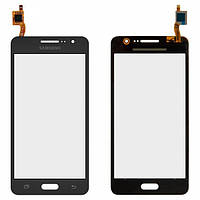 Сенсор (тачскрин) для Samsung G531H/DS Grand Prime VE серый