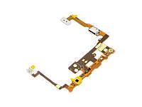 Шлейф для LG P720 Optimus 3D MAX/ P725 с разъемом зарядки, кнопкой камеры, подсветкой сенсорных кнопок, микроф
