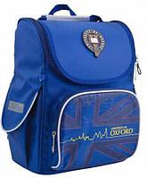 Ранец школьный ортопедический 1 Вересня Oxford blue 553292, фото 1